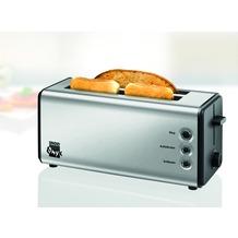 Unold 38915 Toaster Onyx Duplex, schwarz-edelstahl