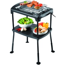 Unold 58550 Barbecue Black Rack, anthrazit