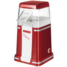 Unold Popcornmaker Classic  rot-metallic/silber