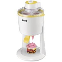Unold Softeismaschine 48860 weiß/gelb