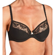 unusual underwired bra My Diary, schwarz 70C