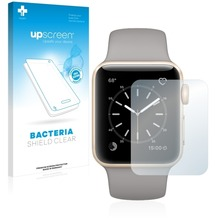 upscreen Bacteria Shield Clear Premium Displayschutzfolie für Apple Watch Series 2 (38mm)