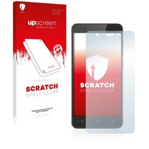 upscreen Scratch Shield Clear Premium Displayschutzfolie für Mobistel Cynus F10