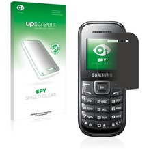 upscreen Spy Shield Clear Premium Blickschutzfolie für Samsung E1200