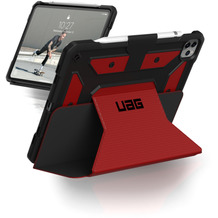 Urban Armor Gear Metropolis Case, Apple iPad Pro 11 (2020 & 2018), magma (rot), 122076119494