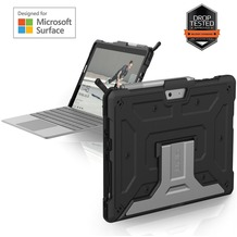 Urban Armor Gear Metropolis Case, Microsoft Surface Go, schwarz