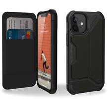 Urban Armor Gear Metropolis Folio Case, Apple iPhone 12 mini, Leder ARMR sw., 112346118340