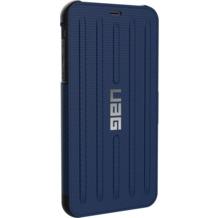 Urban Armor Gear Metropolis Folio Case, Apple iPhone XS Max, cobalt (blau)