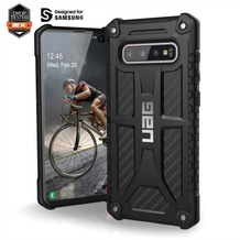 Urban Armor Gear Monarch Case, Samsung Galaxy S10+, carbon