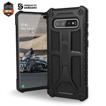 Urban Armor Gear Monarch Case, Samsung Galaxy S10+, schwarz matt