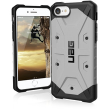Urban Armor Gear Pathfinder Case, Apple iPhone SE (2020)/8/7, silber, 112047113333