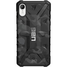 Urban Armor Gear Pathfinder Case, Apple iPhone XR, schwarz/camo, Schutzhülle