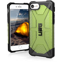Urban Armor Gear Plasma Case, Apple iPhone SE (2020)/8/7, billie (neon grün), 112043117575