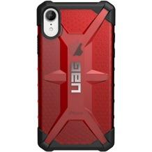 Urban Armor Gear Plasma Case, Schutzhülle, Apple iPhone XR, magma (rot transparent)