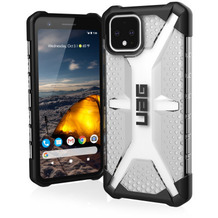 Urban Armor Gear Plasma Case, Google Pixel 4, ice (transparent), 611663114343