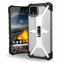Urban Armor Gear Plasma Case, Google Pixel 4 XL, ice (transparent), 611653114343