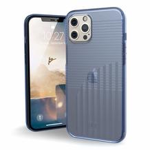 Urban Armor Gear U by UAG [U] Aurora Case, Apple iPhone 12 Pro Max, soft blau (transparent), 11236Q315151