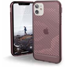 Urban Armor Gear U by UAG [U] Lucent Case, Apple iPhone 11/XR, dusty rose (transparent), 11171N314848