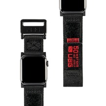 Urban Armor Gear UAG Urban Armor Gear Active Strap, Apple Watch 38/40mm, schwarz, 19149A114040