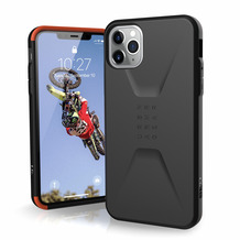 Urban Armor Gear UAG Urban Armor Gear Civilian Case, Apple iPhone 11 Pro Max, schwarz, 11172D114040