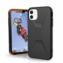 Urban Armor Gear UAG Urban Armor Gear Civilian Case, Apple iPhone 11, schwarz, 11171D114040