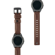 Urban Armor Gear UAG Urban Armor Gear Leather Strap, Samsung Galaxy Watch 42mm, braun, 29181B114080
