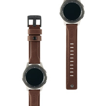 Urban Armor Gear UAG Urban Armor Gear Leather Strap, Samsung Galaxy Watch 46mm, braun, 29180B114080