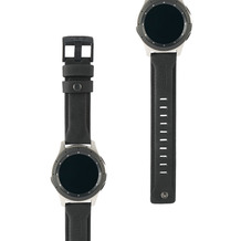 Urban Armor Gear UAG Urban Armor Gear Leather Strap, Samsung Galaxy Watch 46mm, schwarz, 29180B114040