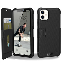 Urban Armor Gear UAG Urban Armor Gear Metropolis Folio Case, Apple iPhone 11, schwarz, 111716114040