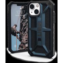 Urban Armor Gear UAG Urban Armor Gear Monarch Case, Apple iPhone 13 mini, mallard (blau), 113141115555