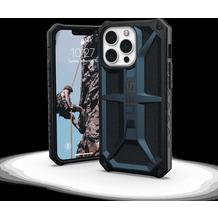 Urban Armor Gear UAG Urban Armor Gear Monarch Case, Apple iPhone 13 Pro, mallard (blau), 113151115555