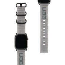 Urban Armor Gear UAG Urban Armor Gear Nato Strap, Apple Watch 38/40mm, grau, 19149C114030