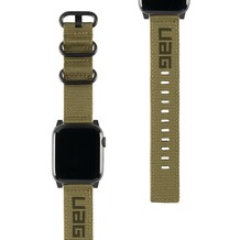 Urban Armor Gear UAG Urban Armor Gear Nato Strap, Apple Watch 42/44mm, olive drab, 19148C114072