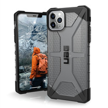 Urban Armor Gear UAG Urban Armor Gear Plasma Case, Apple iPhone 11 Pro Max, ash (grau transparent), 111723113131