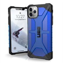 Urban Armor Gear UAG Urban Armor Gear Plasma Case, Apple iPhone 11 Pro Max, cobalt (blau transp.), 111723115050