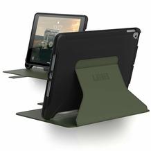 Urban Armor Gear UAG Urban Armor Gear Scout Folio Case, Apple iPad 10,2 (2020&2019), schwarz/olive, 12191I114072