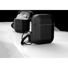 Urban Armor Gear UAG Urban Armor Gear Silicone Case, Apple Airpods (2016 & 2019), schwarz/schwarz, 10185E114040
