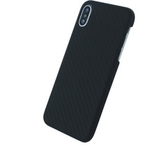 UreParts Black Edition, Carbon Hardcover, Apple iPhone X, Schwarz