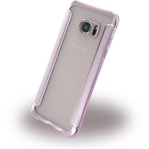 UreParts Shockproof Antirutsch - Silikon Cover für Samsung G935F Galaxy S7 Edge - Pink