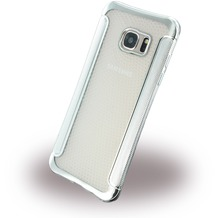 UreParts Shockproof Antirutsch - Silikon Cover für Samsung G935F Galaxy S7 Edge - Silber