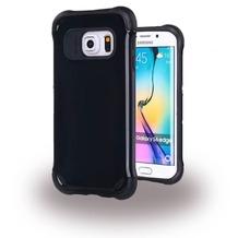 UreParts Shockproof - Hard Cover/ Case/ Schutzhülle - Samsung G925F Galaxy S6 Edge - Schwarz