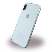 UreParts Silikon Cover / Handyhülle, Apple iPhone X, Transparent