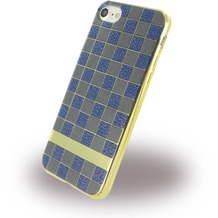 UreParts Square Case - Handyhülle - Apple iPhone 7 - Braun