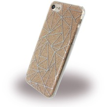 UreParts Tribal Case - Silikon Cover / Schutzhülle - Apple iPhone 7 / 8 - Gold