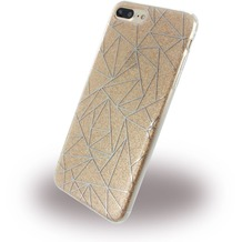 UreParts Tribal Case - Silikon Cover / Schutzhülle - Apple iPhone 7 Plus - Gold