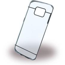 UreParts Ultra Dünn - Clear Cover - Samsung G925F Galaxy S6 Edge - Schwarz