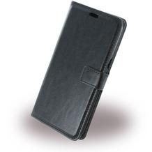 UreParts Uranus - Book Tasche/Hülle/Case - Samsung G928F Galaxy S6 Edge Plus - Schwarz