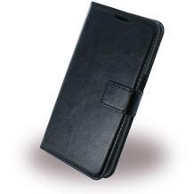 UreParts Uranus - Book Tasche/Hülle/Case - Samsung G930F Galaxy S7 - Schwarz