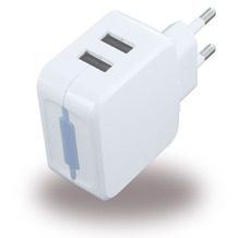 UreParts USB Netzteil / USB Charger - 1000mA/2100mA - Weiss