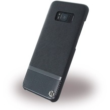 Uunique Luxe Saffiano - Hardcover - Samsung G950 Galaxy S8 - Silber